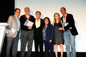 Laemmle receive award